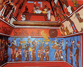 Bonampak the sistine chapel of the americas for Bonampak mural painting