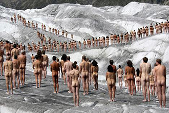 Sorry, all Spencer tunick naked people