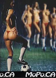 Topless soccer 8