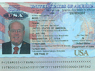 department of state passports