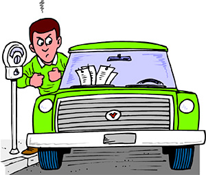 Parking Tickets: Here and There