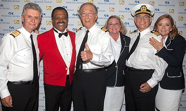 Love Boat Cast Reunites For Cruise Line S 50th