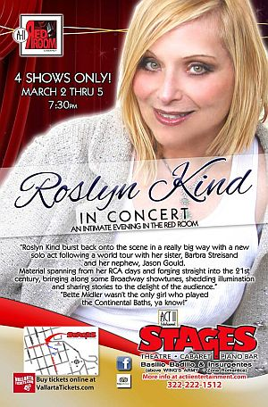 Roslyn Kind In Concert At The Red Room In Puerto Vallarta