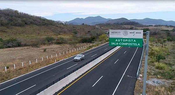 new stretch of guadalajara vallarta highway opened in nayarit
